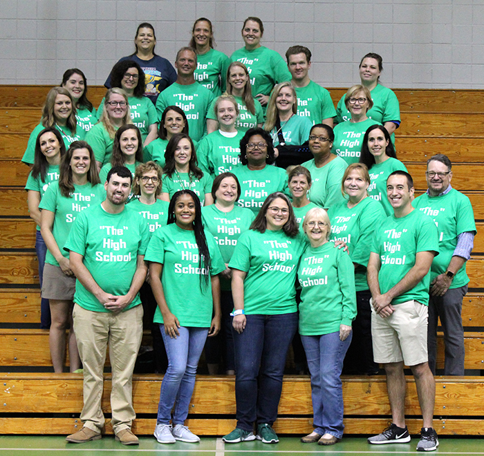 Slidell High Loves STPPS!  #TogetherSTPPS