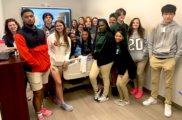 SHS students had the opportunity to visit the Northshore Technical Community College to see the different programs available for continuing education.