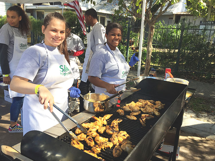 ProStart made a splash at the Warrior Wing Cook-off in Olde Towne Slidell.